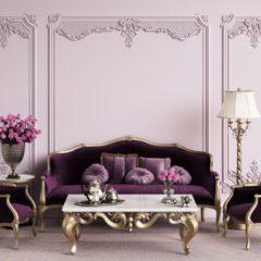 Une chaise baroque royale pour rehausser votre déco