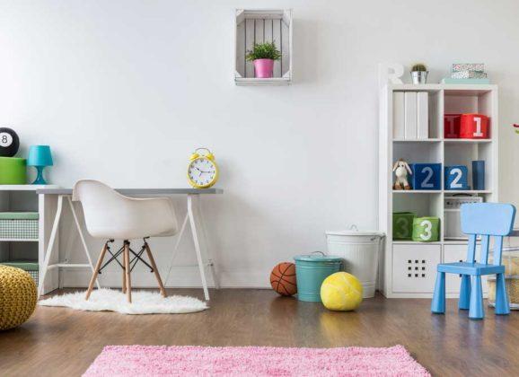 Le mobilier écologique pour une chambre enfant